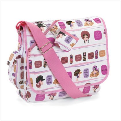 SAUCY SECRETS MESSENGER BAG