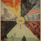 Fallout Game Poster 111, Home Furnishing Decoration, Kraft Paper, Wall stickers