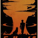Fallout 4 Game Poster Fallout4, Home Furnishing Decoration, Kraft Paper, Wall stickers