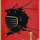 Fallout 4 Game Poster Fly Robot, Home Furnishing Decoration, Kraft Paper, Wall stickers