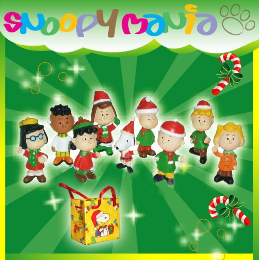 Snoopy Chrsitmas Figurines