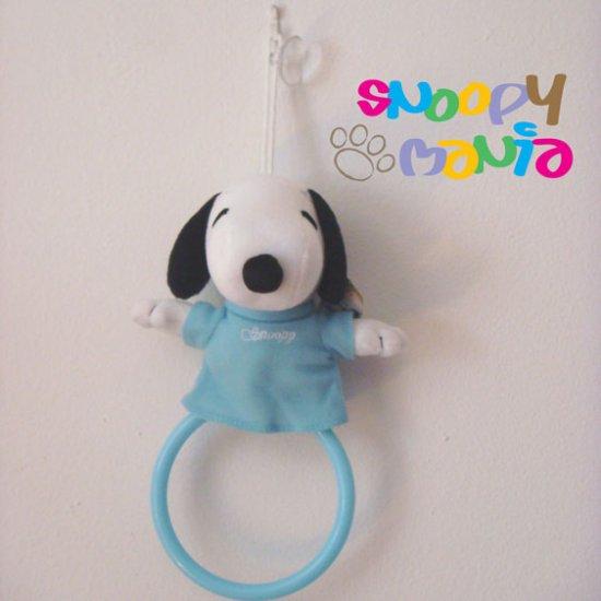Snoopy plush Towel hanger