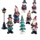 X-MAS CHOIR FIGURINE GIFT SET