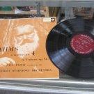 PAUL PARAY brahms symphony no. 4 LP VG+ MG 50057 Mercury Mono Record