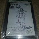 1 Aspen Comics Fathom 0 NM Rare Htf Sketch Signed Michael Turner & Team CGC 9.4