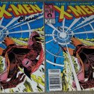 2 Marvel Comics Uncanny X-men 221 1st App Mr Sinister Much Fun Variant Newsstand
