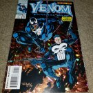 Marvel Comics Venom 1 NM Funeral Pyre Foil Cover Punisher 8/93 Book Spider-Man