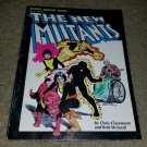 Marvel Comic New Mutants 4 Graphic Novel 1st Print 82 App Copper Key X-men Book