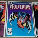 Marvel Comic Wolverine 1 2 3 NM Limited Series Bronze 82 X-men Newsstand Variant