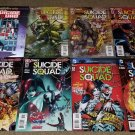 DC Suicide Squad 1 2 3 4 5 6 7 8 NM+ full run set 2011 series book Harley Quinn