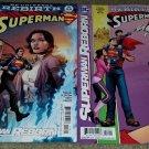 1 set 2 DC Comic Rebirth Superman 18 NM Variant Covers 5/17 Reborn Part New book