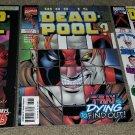 1 2 3 Marvel Comics Deadpool 10 13 32 VF 97 Series book Newsstand Variant UPC