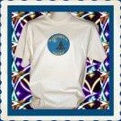 Yoga Harmony Lotus Pose Short sleeve Cotton T-Shirt Large