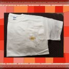 Cotton Pocket T-shirt with Yoga Namaste Sunburst Large