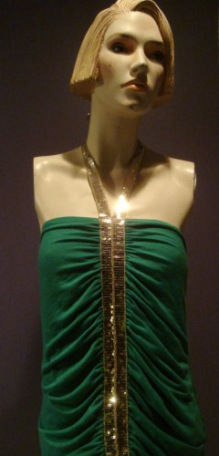 Modern Teal Party Dress