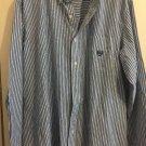 Chaps RALPH LAUREN Long Sleeve Button Up Shirt Extra Large 100% Cotton N