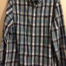 Chaps RALPH LAUREN Long Sleeve Button Up Shirt Extra Large 100% Cotton B