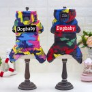 Camouflage Pet Dog Clothes For Small Dogs Coat Winter