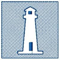 Embossed Lighthouse Design