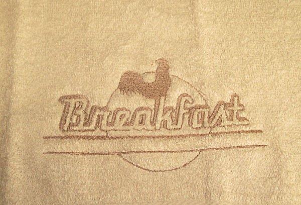 Embossed Breakfast Design