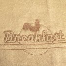 Embossed Breakfast Design