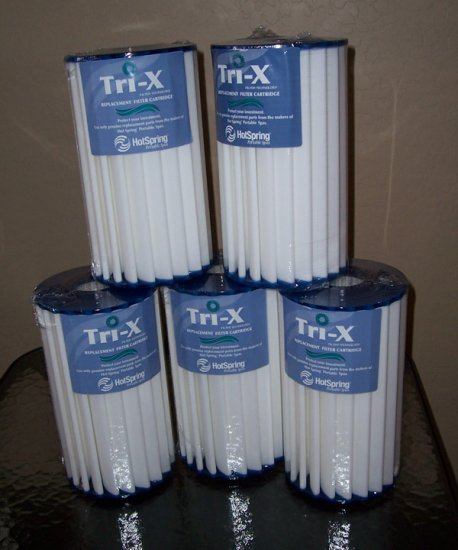 Tri-X Filter for Hot Spring Spa NEW TriX Filter 5-Pack 73178