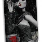 Sin City 2 A Dame To Kill For Art Eva Green 16x12 Framed Canvas Print