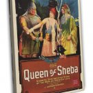 The Queen Of Sheba 1921 Vintage Movie Framed Canvas Print