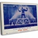 King Kong 1959 Vintage Movie Framed Canvas Print 82