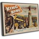 King Kong 1956 Vintage Movie Framed Canvas Print 79