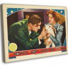 After The Thin Man 1936 Vintage Movie Framed Canvas Print 5
