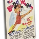 The Band Wagon 1953 Vintage Movie Framed Canvas Print