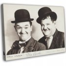 Laurel And Hardy 1930s Vintage Movie FRAMED CANVAS Print 2
