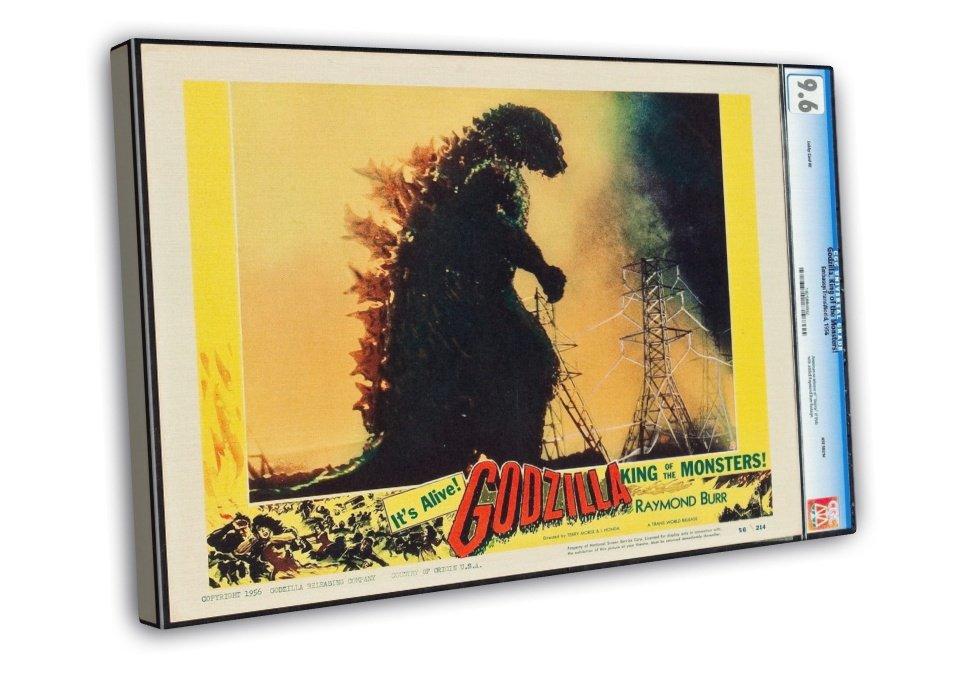 Godzilla 1956 original movie poster
