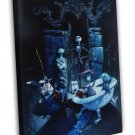 The Nightmare Before Christmas 1993 Vintage Movie FRAMED CANVAS Print 4