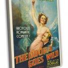 Theodora Goes Wild 1936 Vintage Movie Framed Canvas Print