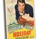 Holiday 1938 Vintage Movie Framed Canvas Print