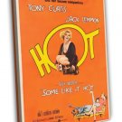 Some Like It Hot 1959 Vintage Movie Framed Canvas Print 12