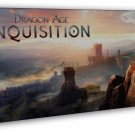 Dragon Age Inquisition Characters Wall Decor 20x16 FRAMED CANVAS Print