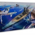 Strike Witches Japanese Manga Art 20x16 FRAMED CANVAS Print Decor