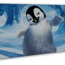 Happy Feet 2 Movie Art 20x16 Framed Canvas Print Decor