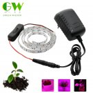 LED Grow Lights DC12V Growing LED Strip Plant Growth Light Set with Adapter