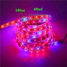 0.5   5m LED Grow Lights DC 12V Growing LED Strip light 5050 Plant Growth T