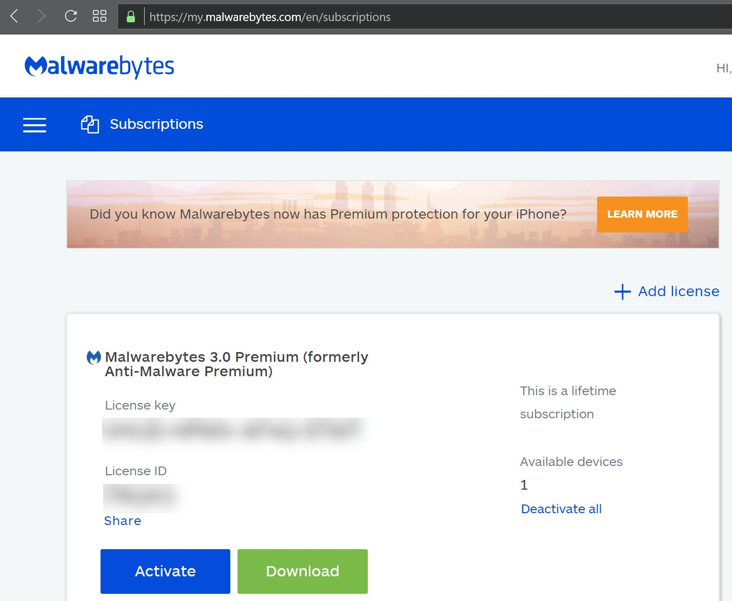 [Lifetime Account] Malwarebytes Premium - Windows (2019 Latest Version)  [Read Description]