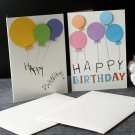 Handmade birthday card | 2 cards set Unique 3D Handcrafted Birthday Cards gift