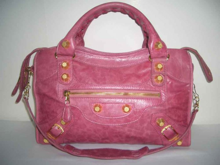 Balenciaga Giant City - Magenta (w/ Gold Hardware)