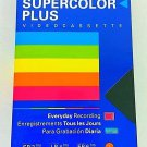 1 SEALED POLAROID T-120 VCR Blank Tape 6 Hour SUPERCOLOR PLUS New VHS