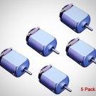 Flormoon DC Motor Mini Electric Motor 0.5-3V 15000RPM DIY Toys 5 Pack Brand New