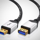 TNP USB 3.0 Extension Cable A-Male to A-Female 10 FT Bi-Directional Extender New