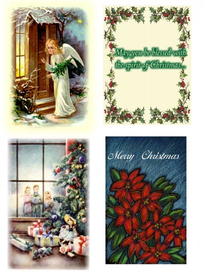 Boxed set of christmas cards
